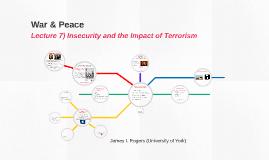 War & Peace: Terrorism