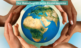 Hautfarbe und Rebegriff beim Homo sapiens