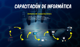 Copy of Semana de capacitaciones