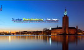 Sverige Demokraterna i rikstaden
