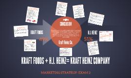 KRAFT FOODS + H.J. HEINZ= KRAFT HEINZ COMPANY