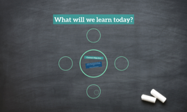 What will we learn today?
