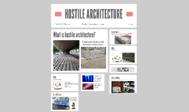 Copy of HOSTILE ARCHITECTURE