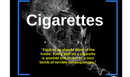 Cigarettes: healthy or harmful?