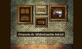 Proyecto de Alfabetización Iniciañ