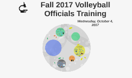 Fall 2017 Volleyball Officials Training