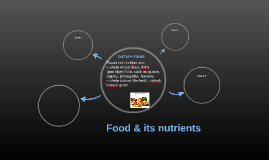 Food & its nutrients