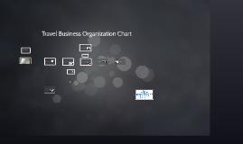 Travel Business Organization Chart