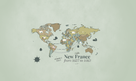 New France from 1627 to 1663