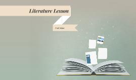 Copia di Copia di Literature Lesson