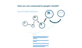 How are cars connected to peoples health?