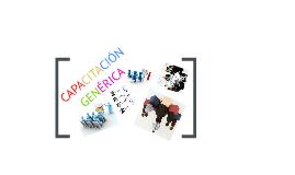 Copy of CAPACITACIÓN GENÉRICA