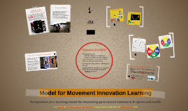 Model for Movement Innovation Learning (MMIL)