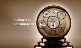 Auditoria de Comunicación