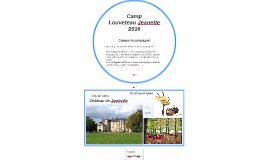 Camps louveteau Jeanette 2016