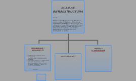PLAN DE INFRAESTRUCTURA