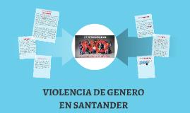 VIOLENCIA DE GENERO EN SANATNDER