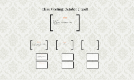 Class Meeting: October 3, 2016