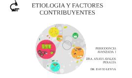 ETIOLOGIA Y FACTORES CONTRIBUYENTES