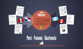 Perú Panamá - Guatemala