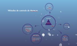 Métodos de controle de doenças