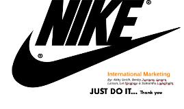 Copy of Nike International Marketing Presentation