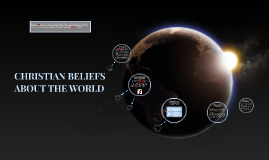 CHRISTIAN BELIEFS ABOUT THE WORLD