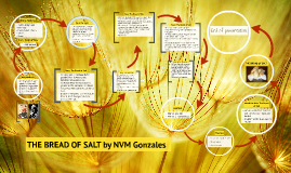 bread of salt by nvm gonzales essay