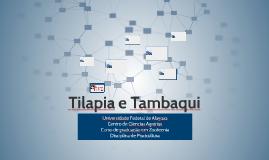 Tilapia e Tambaqui
