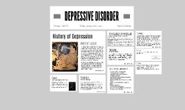 DEPRESSIVE DISORDER