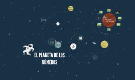 EL PLANETA DE LOS NÚMEROS