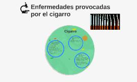 Enfermedades provocadas por el cigarro
