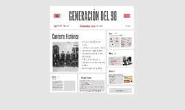 Copy of GENERACIÓN DEL 98