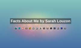 Facts About Me by Sarah Louzon