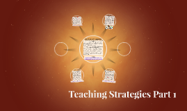 Teaching Strategies Part 1