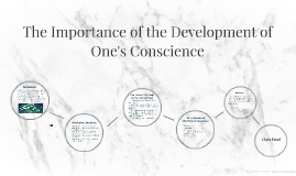 The Importance of the Development of One's Conscience