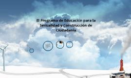 El Programa de Educación para la Sexualidad y Construcción de Ciudadanía