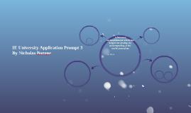 IE University Application Prompt 3