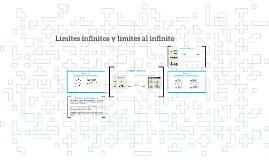 Límites infinitos y límites al infinito