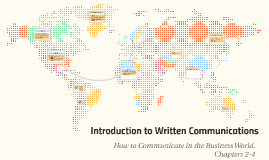 Introduction to Written Communications