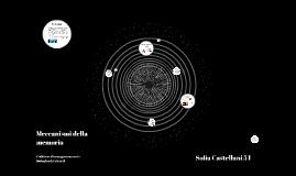 Copy of Meccanismi della memoria