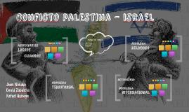 Conficto palestina - israel