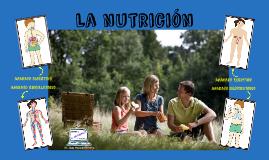 Tema 2: La nutrición. 6º EP