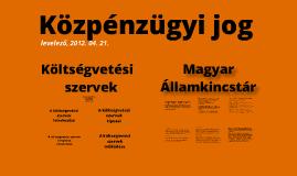 Közpénzügy levelező 3. ea.