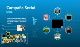 Ejemplos de Campañas Sociales