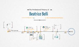 Timeline Prezumé by Beatrice Belli