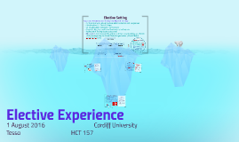 Elective Experience