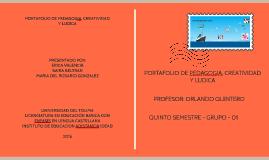Copy of Copy of Copy of portafolio de  pedagogia