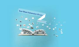 EWU Library Presentation