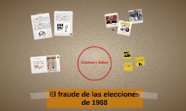 El fraude de las elecciones de 1988